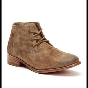 Frye Carly Suede Booties